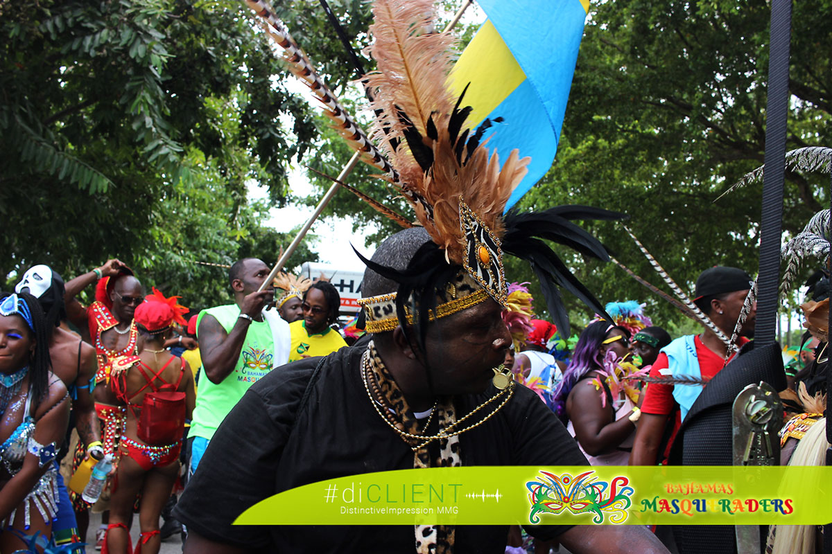 Bahamas Masqueraders Rule the road during Miami Carnival