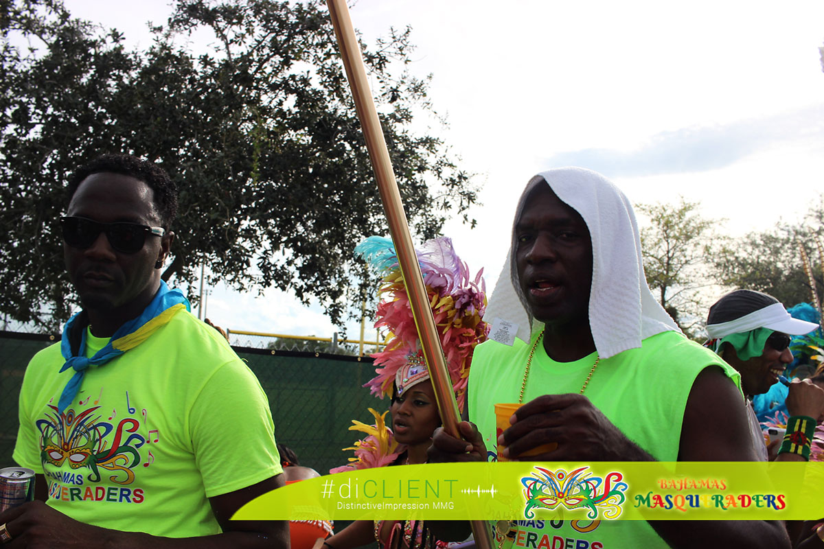 The Mighty Pencil Bahamas Masqueraders DJ