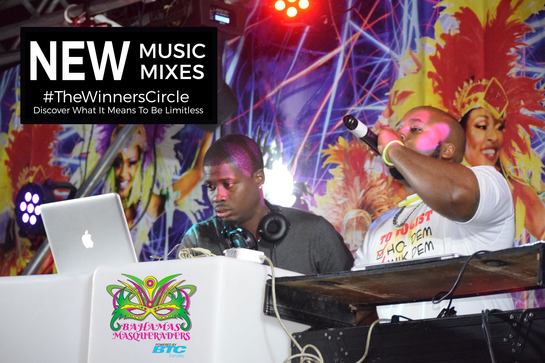 Bahamas Masqueareds DJs and Artists