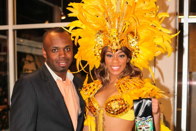 Bahamas Consulate General ATL with Bahamas Masquerader