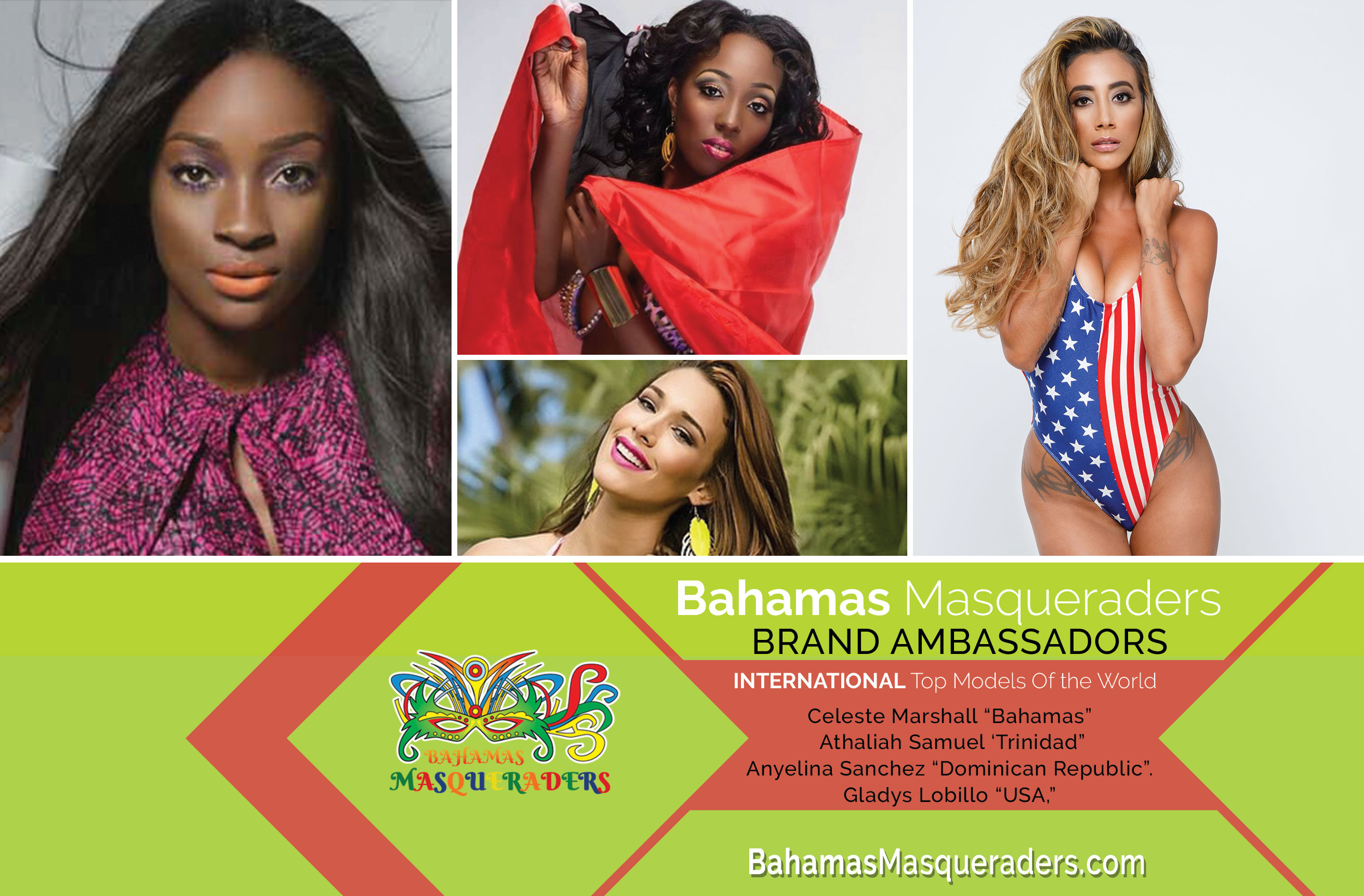 Top Models of the World Support Diversity in Bahamian Cultural Tourism