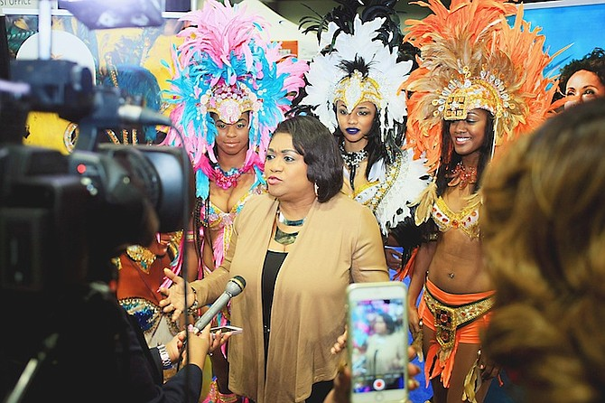 Bahamas Masqueraders Front and Center for Bahamas Junkanoo Carnival Marketing