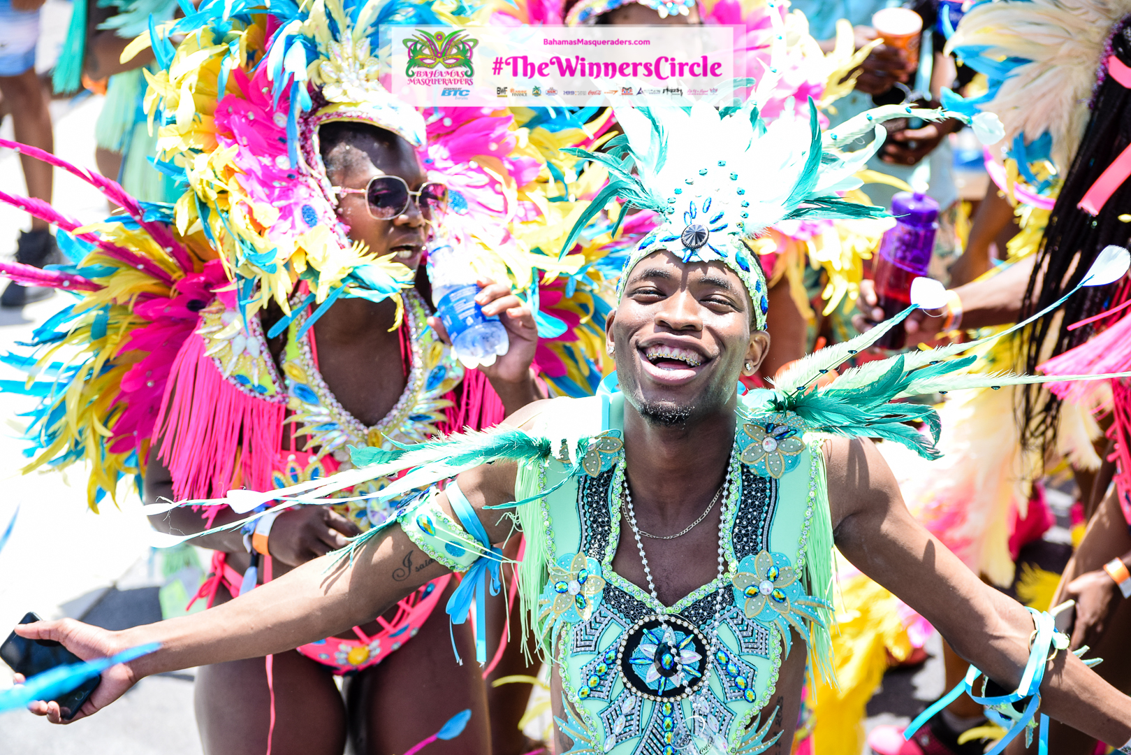 "#Photo Recap Bahamas Junkanoo Carnival 2017 ""Seas the Day"""