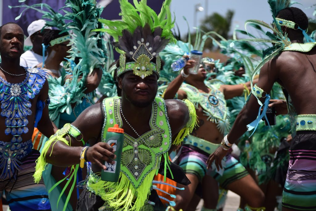 Tourism Today Network captures Bahamas Masqueraders road fever Saturday, May 6