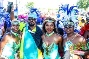 Miami Carnival 2017 Bahamas Masqueraders Enchanted costume Section